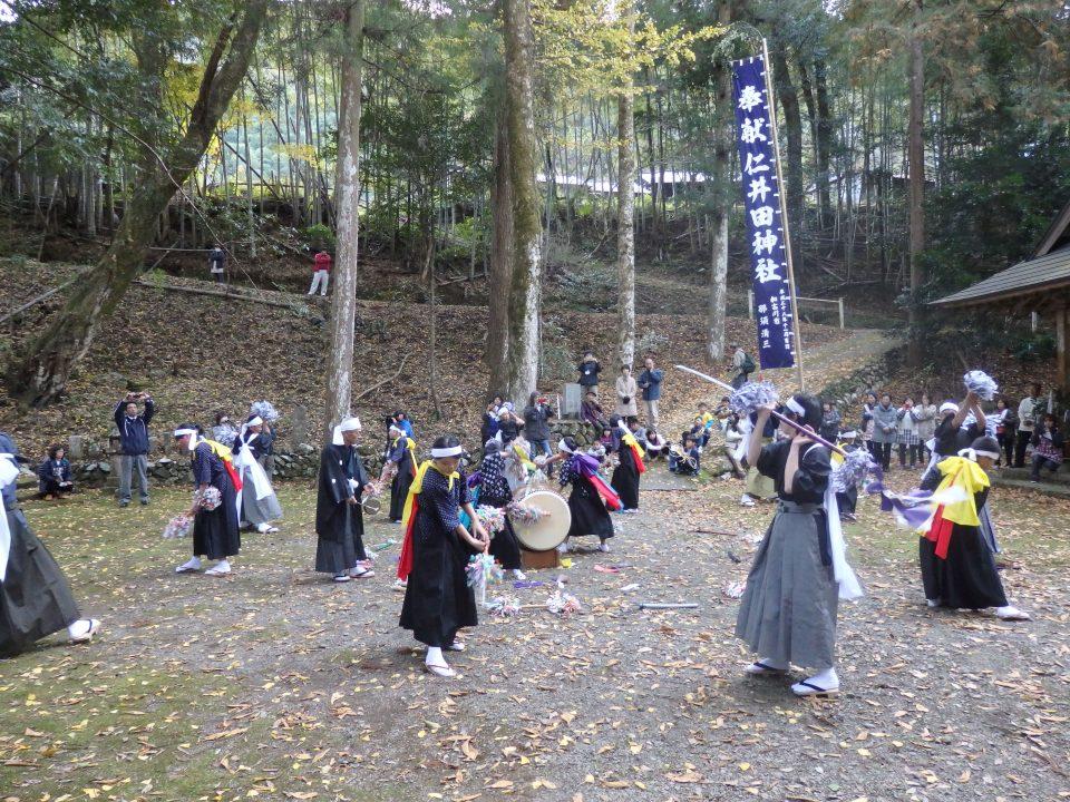 下津井の花取り踊り