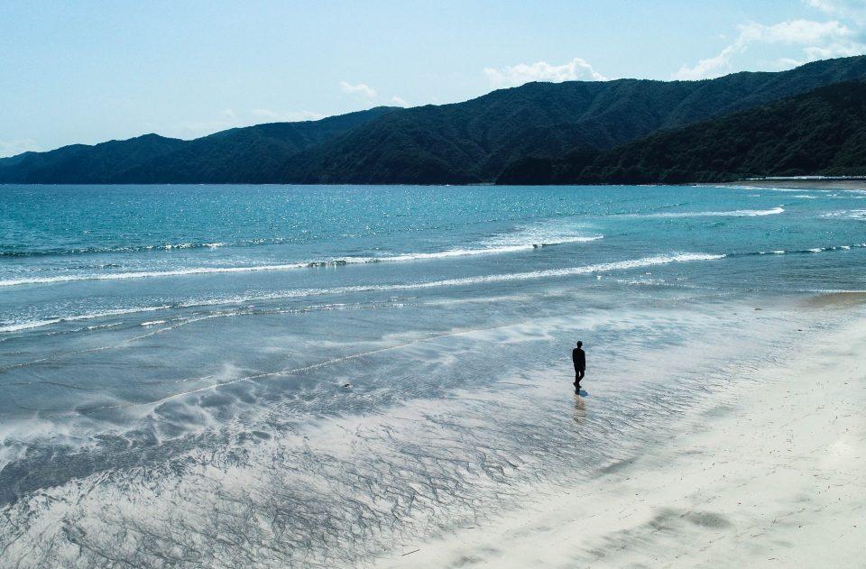 興津海水浴 ビーチ